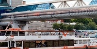 <b>Скидка до 61%.</b> Прогулка напанорамном теплоходе «Прага» поМоскве-реке снапитком откомпании «МосФлот»