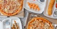 Всё меню пиццы, роллов исетов отслужбы доставки «Кушай суши» соскидкой50%