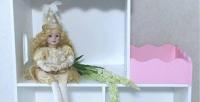 <b>Скидка до 30%.</b> Кукольный дом, диван сящиком или шкаф для одежды кукол