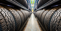<b>Скидка до 60%.</b> Хранение шин легкового автомобиля или внедорожника откомпании «Шинохран»