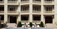 <b>Скидка до 40%.</b> Отдых вселе Дивноморском спосещением бассейна сподогревом, пользованием мангалом вгостевом доме Divo Plaza