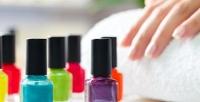 <b>Скидка до 90%.</b> Маникюр спокрытием ногтей гель-лаком или парофинотерапия рук всалоне красоты «Сапфир»
