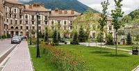 <b>Скидка до 50%.</b> Отдых вСочи наКрасной поляне вапартаментах отеля «Горки Город» оттурагентства Nice Trip