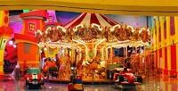<b>Скидка до 50%.</b> Целый день посещения игрового комплекса «Веселый городок» или празднование детского дня рождения попакету «Волшебный» саниматором иугощениями отсети парков развлечений «Фанки таун»