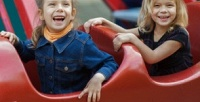 Безлимитное посещение комплекса аттракционов для детей до3лет или от3до12лет вПарке культуры иотдыха «Юность» соскидкой50%