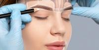 <b>Скидка до 75%.</b> Перманентный макияж век, губ или бровей, коррекция иокрашивание бровей встудии Дарьи Курчаевой