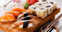 <b>Скидка до 50%.</b> Доставка сетов японской кухни отсуши-бара Sakura