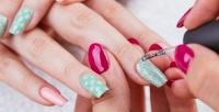 <b>Скидка до 70%.</b> Классический маникюр ипедикюр спокрытием ногтей гель-лаком иSPA-процедурой всалоне красоты «Элина»