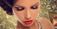 <b>Скидка до 50%.</b> Дневной, вечерний макияж, стрижка, укладка, окрашивание волос, коррекция иокрашивание бровей всалоне красоты «АннаМария»