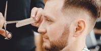 <b>Скидка до 50%.</b> Мужская или детская стрижка, моделирование бороды, бритье головы, камуфляж седины, стрижка «Папа исын» отбарбершопа «Острые козырьки»