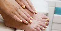 <b>Скидка до 68%.</b> Маникюр ипедикюр, наращивание ногтей всалоне красоты «Колорит»