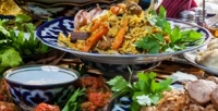 <b>Скидка до 54%.</b> Романтический или дружеский ужин влаундж-ресторане восточной иавторской кухни «Карши»