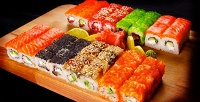 Всё суши-меню отсуши-бара Pravda соскидкой50%