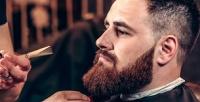 <b>Скидка до 50%.</b> Мужская идетская стрижка, оформление бороды вбарбершопеZZ