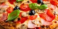 Пицца, бургер или пирог отслужбы доставки «Виорд» соскидкой50%