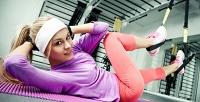 <b>Скидка до 52%.</b> Групповые ииндивидуальные занятия встудии функционального тренинга «TRX-фитнес»