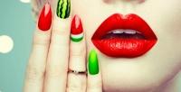<b>Скидка до 75%.</b> Классический или комбинированный маникюр ипедикюр спокрытием Shellac идизайном двух ногтей либо наращивание ногтей гелем встудии Nadezhda Krasnodar