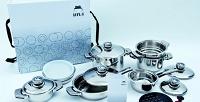 Подарочный комплект кухонной посуды из16предметов Hyla (14840руб. вместо 28000руб.)