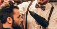 <b>Скидка до 52%.</b> Мужская стрижка имоделирование бороды встудии стрижек DaBro