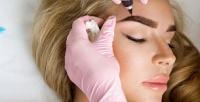 <b>Скидка до 68%.</b> Татуаж или микроблейдинг бровей, губ либо век, карбоновый пилинг лица ишеи или лазерное выведение тату итатуажа встудии татуажа «Ирина»