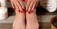 <b>Скидка до 55%.</b> Маникюр ипедикюр спокрытием ногтей гель-лаком встудии красоты «Мишель»
