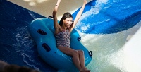 <b>Скидка до 50%.</b> Целый день развлечений для взрослого, ребенка, льготной категории посетителей по тарифу «Безлимитный» в будний или выходной в аквапарке «Ривьера» со скидкой 50%