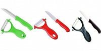 Набор керамических ножей из4или 5предметов. <b>Скидкадо67%</b>