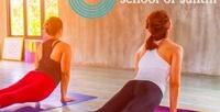 1месяц безлимитного посещения групповых занятий йогой, бассейна ибанного комплекса вцентре йоги «Зебра Шанти» (2950руб. вместо 5900руб.)