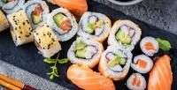 Суши-сет отресторана доставки «Мир суша» соскидкой50%