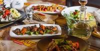 Блюда ибезалкогольные напитки изменю ресторана-бара «Жигули» соскидкой50%