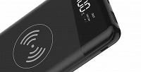 Портативное зарядное устройство Maimi P31 Ultrathin сфункцией беспроводной зарядки (1499руб. вместо 1999руб.)