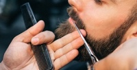 <b>Скидка до 50%.</b> Мужская стрижка иоформление бороды вбарбершопе «Метро»