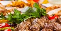 <b>Скидка до 32%.</b> Шашлык, люля-кебаб, салат, пицца или хачапури отресторана «Аран»