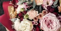<b>Скидка до 76%.</b> Голландские или кустовые розы, тюльпаны, орхидеи, ирисы