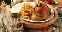 Блюда инапитки вчешском ресторане Budweiser Budvar соскидкой 50%