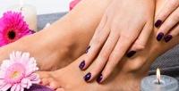 <b>Скидка до 73%.</b> Маникюр ипедикюр спокрытием гель-лаком, наращивание ногтей гелем встудии маникюра Beauty Universe