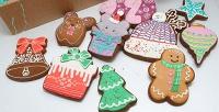 <b>Скидка до 50%.</b> Подарочный новогодний набор пряников, варенья, ингредиентов для приготовления рождественского кекса или горячего шоколада