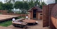 <b>Скидка до 54%.</b> 2, 3или 4часа посещения бани иаренда беседки отзоны отдыха «Кам-Хан»