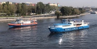 <b>Скидка до 66%.</b> Прогулка натеплоходе поМоскве-реке собедом или ужином посистеме All Inclusive либо без, аренда VIP-каюты спанорамным обзором отгруппы компаний «РПК»