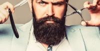 <b>Скидка до 52%.</b> Мужская идетская стрижка или оформление бороды отбарбершопа «Цирюльня»