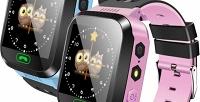 Детские GPS-часы-телефон Q528 (997руб. вместо 1690руб.)