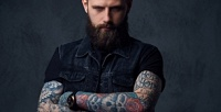 <b>Скидка до 50%.</b> Королевское бритье головы, бороды, экспресс-бритье, стрижка машинкой, мужская идетская стрижка вбарбершопе «Место, где тебя ждут»