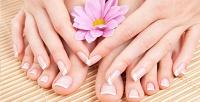 Маникюр ипедикюр навыбор спокрытием лаком или гель-лаком, дизайном ногтей всалоне красоты «Образ». <b>Скидкадо76%</b>