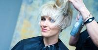 Женская или мужская стрижка, окрашивание, термокератин для волос всалоне «Амели». <b>Скидкадо78%</b>