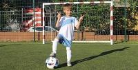 Абонемент на1или 2месяца занятий вдетской футбольной школе «Фабрика футболистов». <b>Скидкадо65%</b>