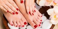 Маникюр ипедикюр или гелевое наращивание ногтей всалоне красоты «Софи». <b>Скидкадо71%</b>