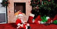 Новогодняя фотосессия для одного, двоих или семьи встудии «Ангел». <b>Скидкадо87%</b>