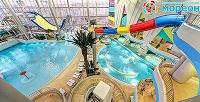 Отдых длядетей ивзрослых вбудние и выходные дни вкрупнейшем аквапарке Москвы «Мореон». <strong>Скидкадо34%</strong>