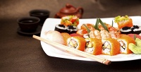 Наборы, сеты, отдельные роллы игорячие японские блюда вслужбе доставки «Орхидея». <b>Скидка60%</b>