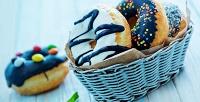 Большой выбор пончиков сдоставкой вкомпании Seven Donuts. <b>Скидка50%</b>